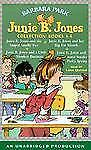 Junie B. Jones Books 1-4, AUDIO CASSETTES--UNABRIDGED--NEW--FREE SHIPPING