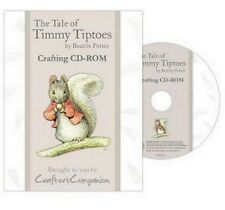 CRAFTERS COMPANION BEATRIX POTTER CD ROM- TIMMY TIPTOES