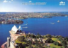 Australia Sydney The Harbour City Opera House and Government General view
