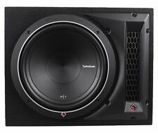"Rockford Fosgate Punch P1-1X12 12"" 500W 4-Ohm P1S4-12 Loaded Subwoofer Enclosure"