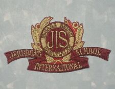 "Jerudong International School Patch - Brunei - 3"" x 1 5/8"""