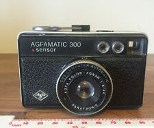 Vintage Agfamatic 300 Sensor 126 Film Camera Good Working Order