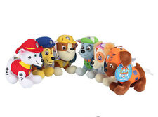 PAW PATROL COMPLETE SET of 6 Cute Dogs plush Doll Dog Toy Chase Zuma 12CM
