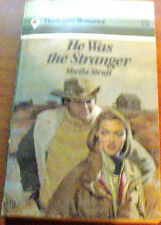 HE WAS THE STRANGER by SHEILA STRUTT 1986 PB 1ST