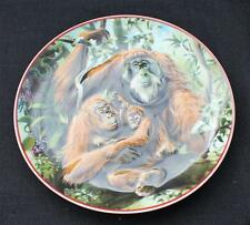 "1984 HEINRICH Germany VILLEROY&BOCH World Widelife Fund ORANG-UTAN 8"" 3D Plate"