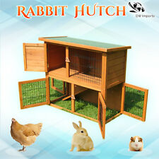 Two Storey Rabbit Hutch, Guinea Pig, Chicken Coop and Ferret House