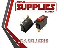 AC 250V 15A  Red Light illuminated ON/OFF 2 Position Rocker Switch 3 Pin KCD3