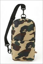 A Bathing Ape Bape Camo Cushion Cross Body Travel Trip Shoulder Messenger Bag