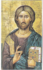 "*HOLY CARD-""Byzantine Icons"" (Holding Bible) ...CLASSIC   (#67)"