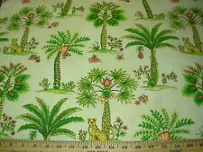 "~5 2/8 YDS~WAVERLY~""BANYON BREEZE"" ANIMALS~COTTON UPHOLSTERY FABRIC FOR LESS~"