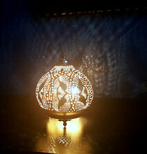 Egyptian Lamps, Moroccan Lamps, Arabic Style Lamps Round Table Top