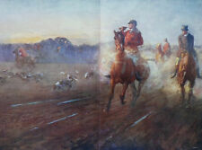 The End Of A Good Day Fox Hunting 1910 Lionel Edwards Print 9680