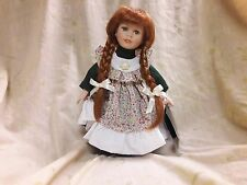 Vintage Anne of Green Gable Porcelain Doll Collection By Catherine Karnes Munn