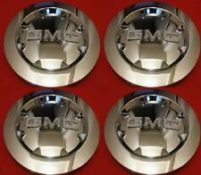 "4pcs. 2007-2012 GMC SIERRA 1500 YUKON XL DENALI Chrome Center Cap 20"" NICE SET"