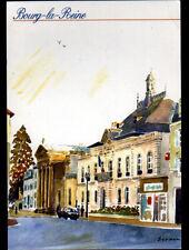 BOURG-la-REINE (92) MAIRIE & EGLISE illustré par Jacques BERNON en 1997