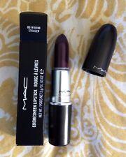 MAC Boyfriend Stealer Dark Desires Cremesheen Lipstick LE BNIB Dark Purple Black