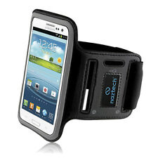 Naztech Universal Sports Armband for Most Large Smartphones - Black