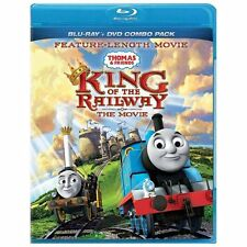 NEW THOMAS THE TRAIN: KING OF THE RAILWAY THE MOVIE BLU-RAY & DVD COMBO SEALED