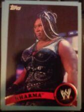 2011 Topps WWE Wrestling BLUE #15 Kharma #d 0976/2011