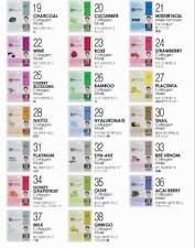 Korean Beauty Dermal Collagen Essence Face Mask Sheet Facial Pack 38Type+7PCS