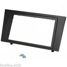 CT24FD43 FORD MONDEO 2004 to 2007 BLACK DOUBLE DIN FASCIA FRAME ADAPTER ONLY