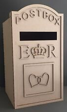 Y61 XXX-LARGE Wedding ROYAL MAIL LETTER Post Box Message MDF Table Display