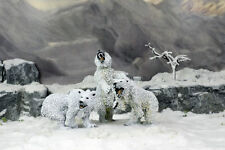 DeeZee Miniatures SNOW BEARS! SET of 3 Cave Bears – 28mm Wargames
