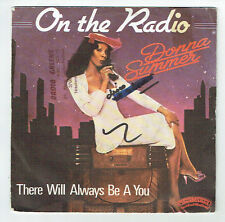 """Donna SUMMER Vinyl 45T 7"""" ON THE RADIO - THERE WILL ALWAYS BE A YOU Frais Rèduit"""