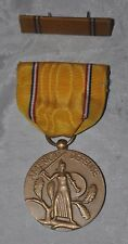 UNITED STATES AMERICAN DEFENSE SERVICE MEDAL Slot Broach WWII