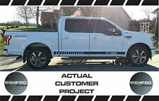 F150 Vinyl Rocker Stripes Rally Racing Side Body Decal Ford Shelby 4x4