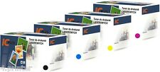 Full Set of 4 High Capacity Toner Cartridges for Oki C3200 Oki C3200N