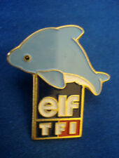 PINS DAUPHIN DOLPHIN ELF TF1 ENTREPRISE TELEVISION  CINEMA TV