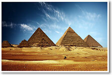 Egyptian Pyramids - Giza 7 Wonders Classroom NEW POSTER
