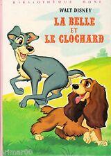 La Belle et le clochard // Walt DISNEY // Bibliothèque Rose