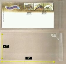 """OPP Plastic Sleeve C/W Sticker Size [4.5"""" x 9""""]-suitable for FDC (25 pcs/pack)"""