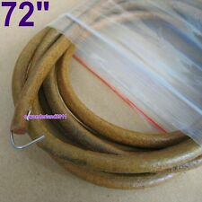 "72"" (183cm)LEATHER BELT For SINGER  TREADLE SEWING MACHINE - 0.23"" (5.8mm)"