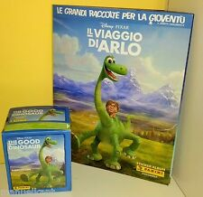 PANINI IL VIAGGIO DI ARLO THE GOOD DINOSAUR Album + 50 bustine figurine stickers