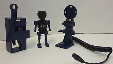 Playmobil 4880 Robo Gang Lab Parts Lot Top Agents Robot Charge Port Station