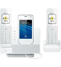Panasonic Link2cell Kx-prd262w Dect 6.0 1.93 Ghz Cordless Phone - White -