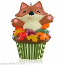 Hallmark 2015 Sly and Sweet Cupcake Monthly #2 in  series ornament