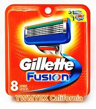 GILLETTE FUSION  RAZOR BLADES, 8 Cartridges, ***ON SALE*** #005