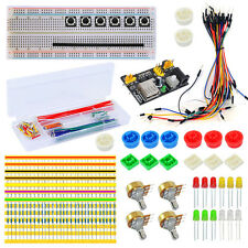Electronic Part Kit for Arduino Starter Breadboard+Dupont Cable+Resistors+LEDs