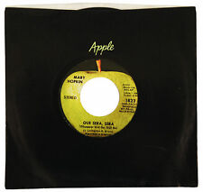 MARY HOPKIN – Que Sera, Sera  / Fields Of St. Etienne 45rpm APPLE 1823 MCCARTNEY