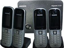 QUATTRO Siemens Gigaset S3 Professionnel DECT TÉLÉPHONE combiné+Chargeur+SL560