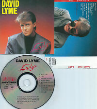 DAVID LYME-LADY-1990-ITALY-AVEX TRAX RECORDS AVCD-1002-CD-MINT-