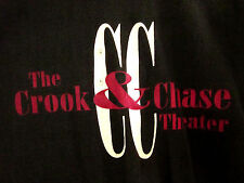 CROOK & CHASE THEATER country music Myrtle Beach lrg T shirt NC logo tee