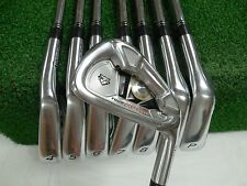 Taylormade Tour Preferred Tp 3-Pw Iron Set Rifle Regular Flex Steel Used Rh