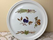 "Royal Worcester Evesham Giant 13.1/2"" Round Serving Platter / Plate Perfect"