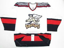 GRAND RAPIDS GRIFFINS AUTHENTIC AHL WHITE TEAM ISSUED REEBOK 6100 JERSEY SIZE 54