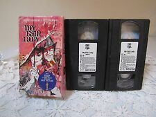 My Fair Lady VHS 2 Tapes A Brilliant Stunning Film